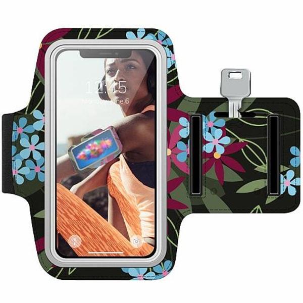 Samsung Galaxy S7 Edge Träningsarmband / Sportarmband -  Flowerz