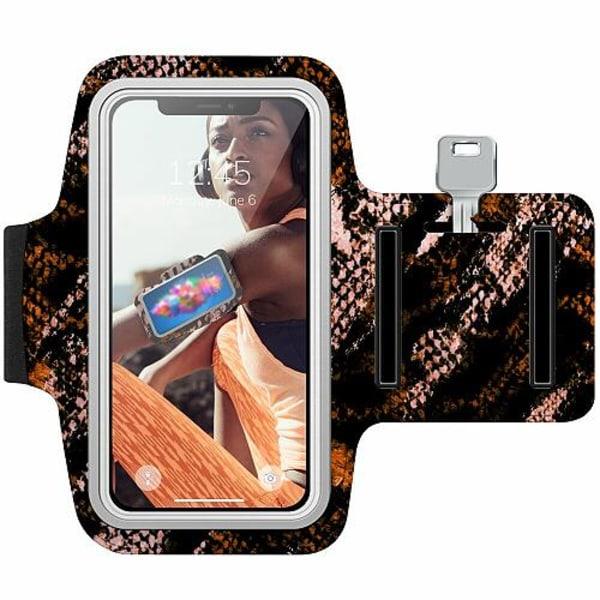Sony Xperia XZ2 Träningsarmband / Sportarmband -  Snakeskin B