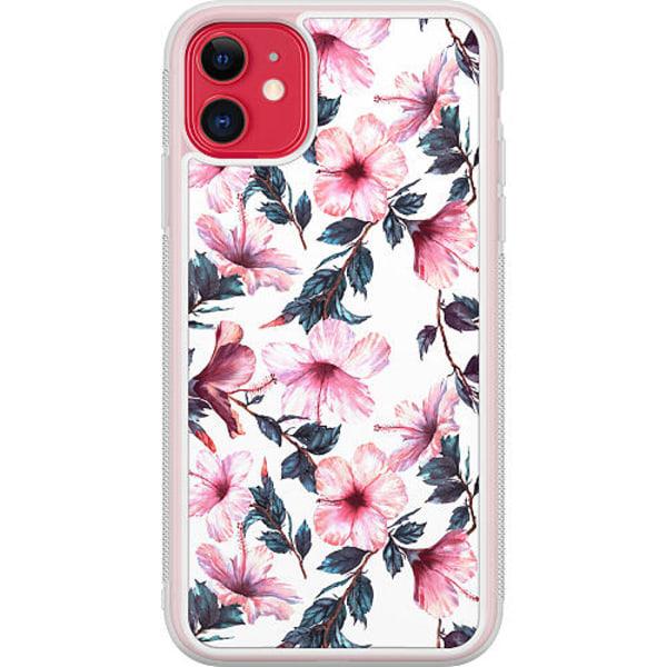 Apple iPhone 12 mini Transparent Mobilskal Floral Spring
