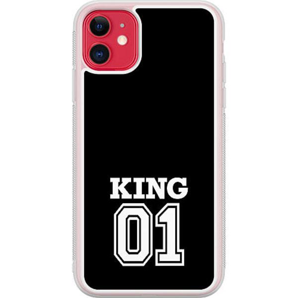 Apple iPhone 12 mini Transparent Mobilskal King 01