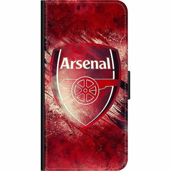 Sony Xperia 10 Plus Wallet Case Arsenal Football