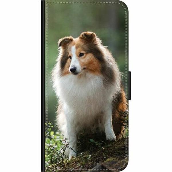 Samsung Galaxy Note 10 Plus Wallet Case Collie Dog