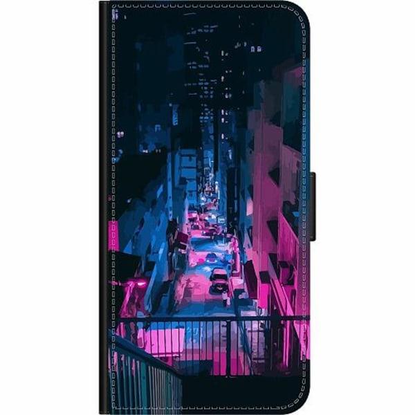 Huawei P Smart (2018) Wallet Case Cyberpunk 2077