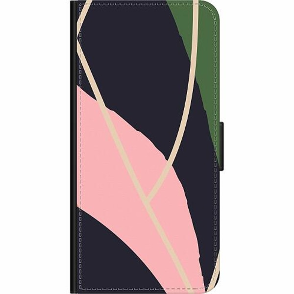 Sony Xperia 10 Plus Wallet Case Dots, Lines, What
