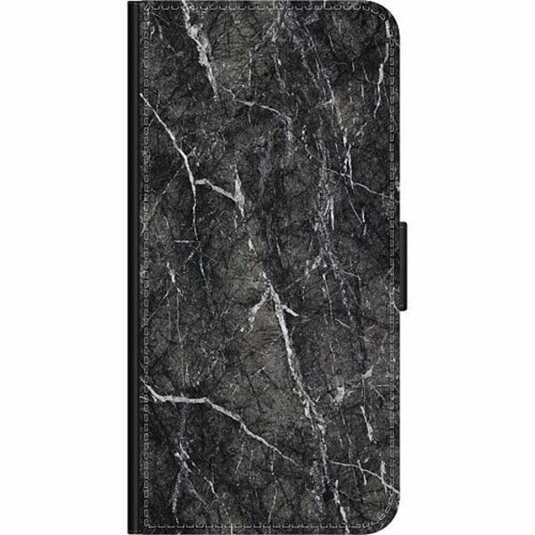 Samsung Galaxy Note 10 Plus Wallet Case Marmor Svart