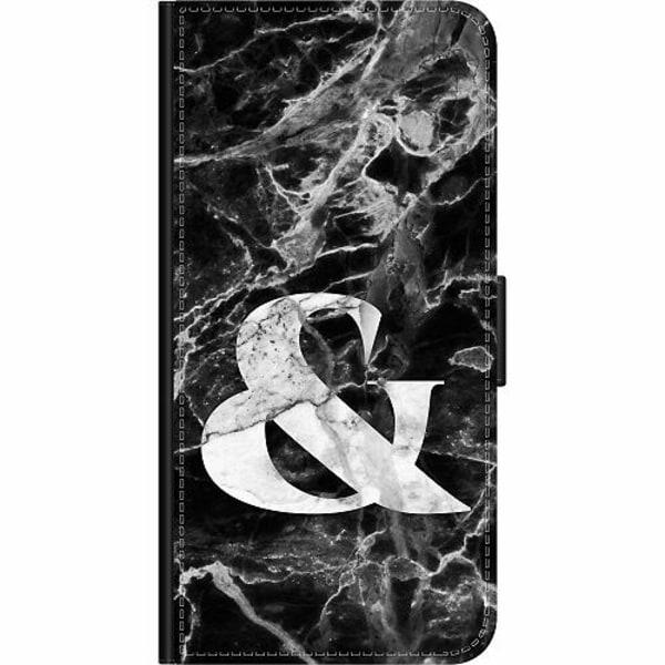 Samsung Galaxy S21 Wallet Case Marmor & Svart