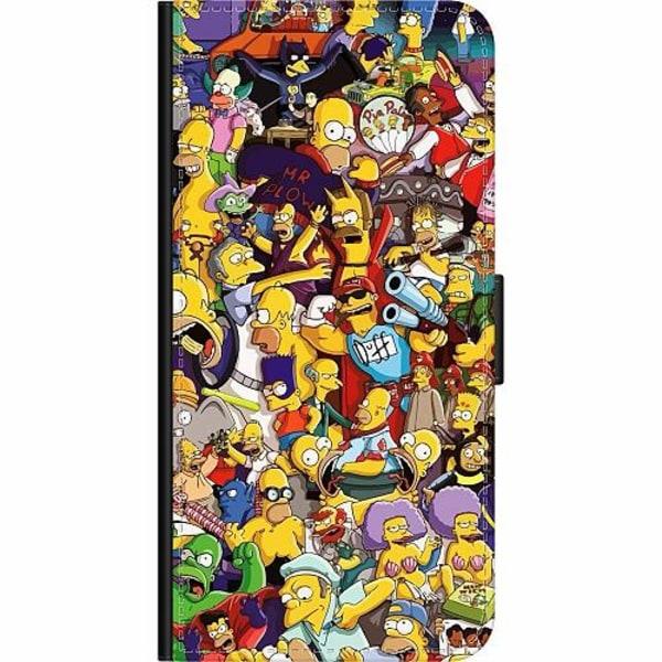 Sony Xperia 10 Plus Wallet Case Simpsons