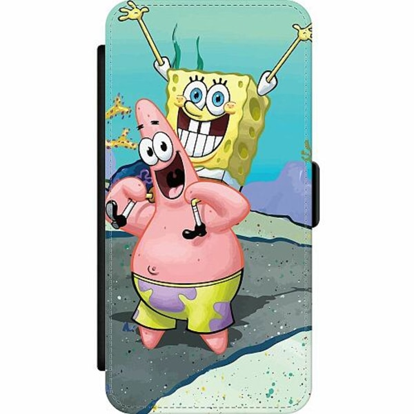 Apple iPhone 12 Pro Wallet Slim Case SpongeBob Fyrkant