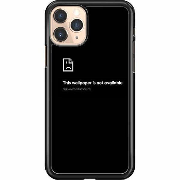 Apple iPhone 11 Pro Hard Case (Svart) Error