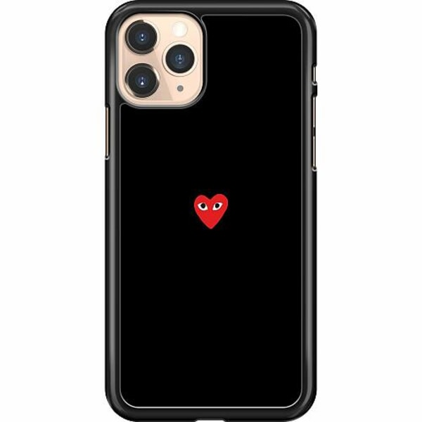 Apple iPhone 11 Pro Hard Case (Svart) Heart