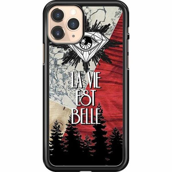 Apple iPhone 11 Pro Hard Case (Svart) Mönster