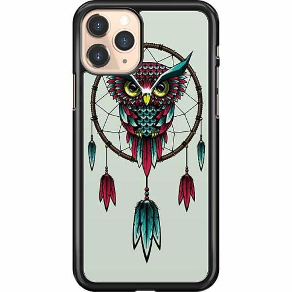 Apple iPhone 12 Pro Hard Case (Black) Owl