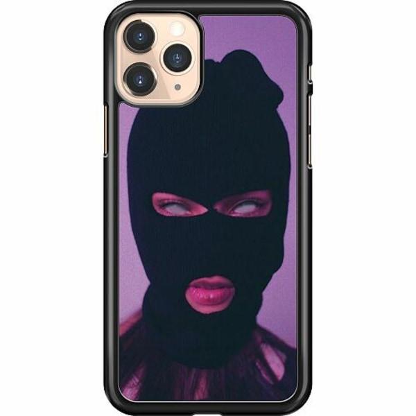 Apple iPhone 11 Pro Hard Case (Svart) Purple Mask