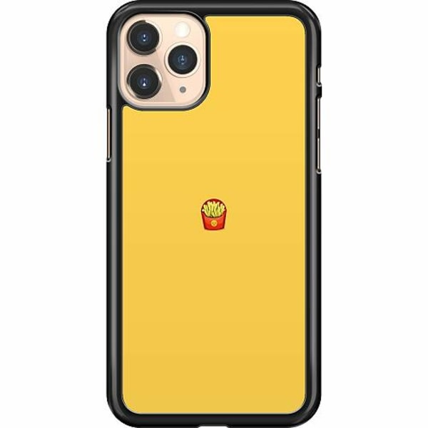 Apple iPhone 11 Pro Hard Case (Svart) Yellow