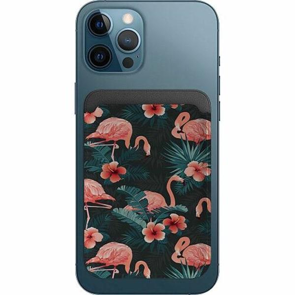 Apple iPhone 12 Pro Korthållare med MagSafe -  Flamingo