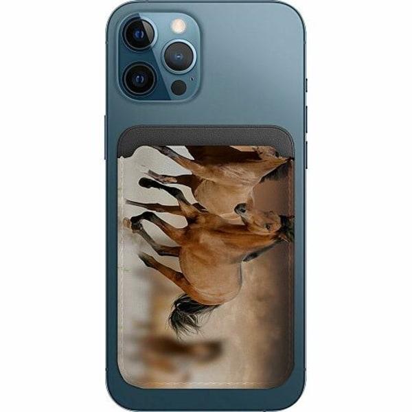 Apple iPhone 12 Pro Korthållare med MagSafe -  Hästar