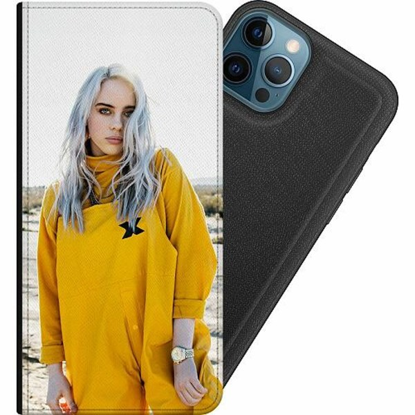 Apple iPhone 12 Pro Magnetic Wallet Case Billie Eilish 2021