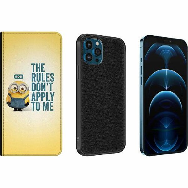 Apple iPhone 12 Pro Magnetic Wallet Case Minions
