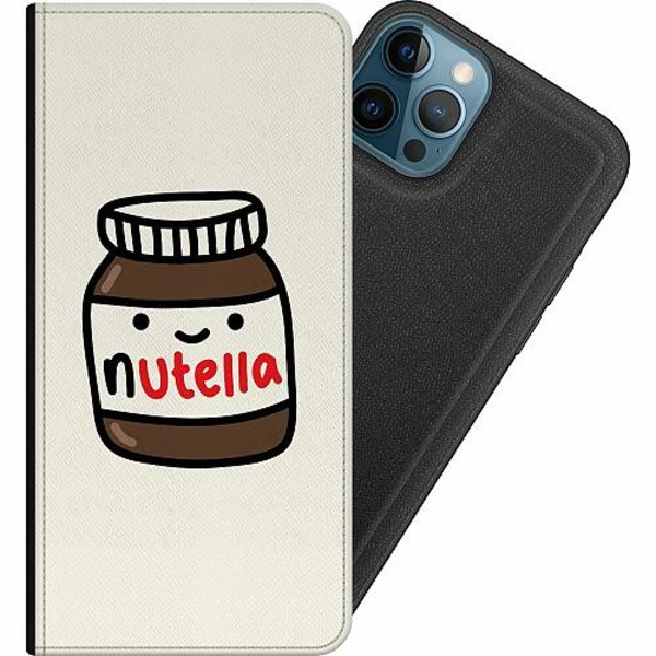 Apple iPhone 12 Pro Magnetic Wallet Case Nutella