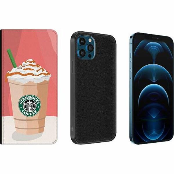 Apple iPhone 12 Pro Magnetic Wallet Case Starbucks