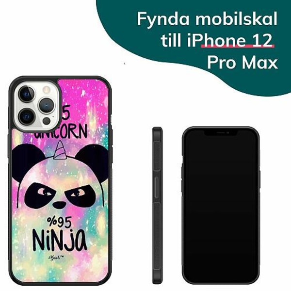 Apple iPhone 12 Pro Max Billigt mobilskal - UNICORN