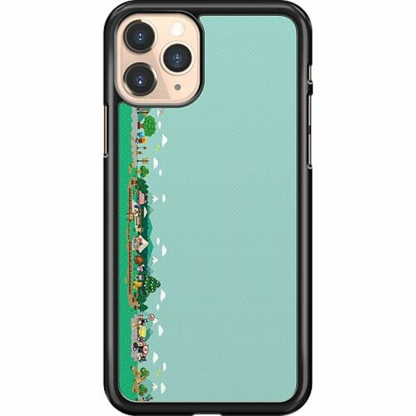 Apple iPhone 11 Pro Hard Case (Svart) Animal Crossing
