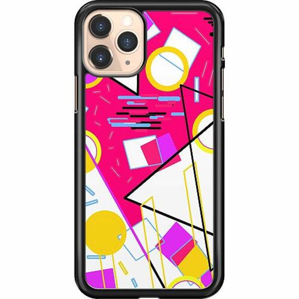 Apple iPhone 12 Pro Hard Case (Black) Back To The Retro