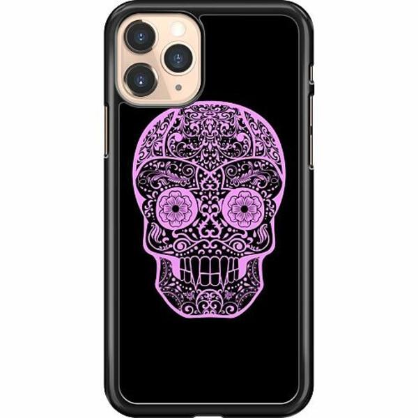 Apple iPhone 11 Pro Hard Case (Svart) Döskalle