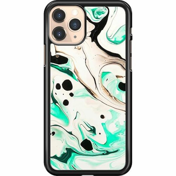 Apple iPhone 11 Pro Hard Case (Svart) Marmor