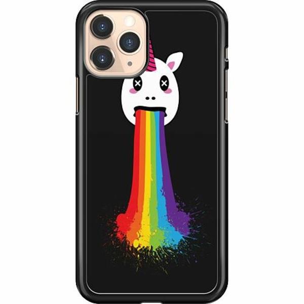 Apple iPhone 11 Pro Hard Case (Svart) Unicorn