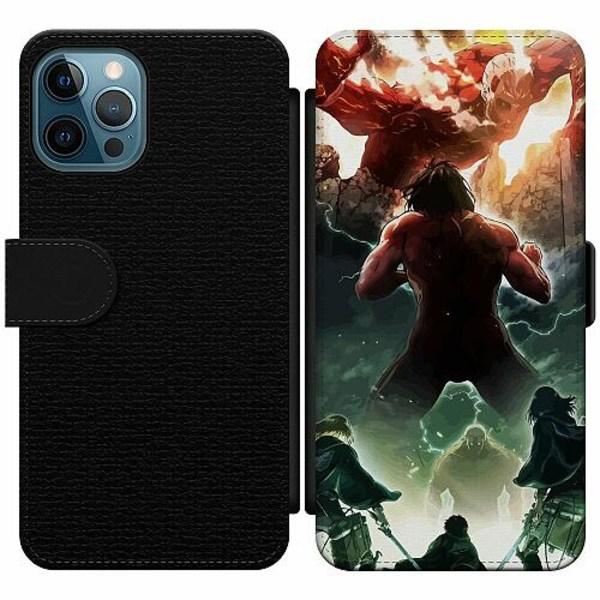 Apple iPhone 12 Pro Wallet Slim Case Attack On Titan