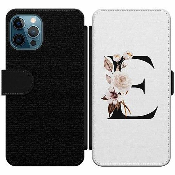 Apple iPhone 12 Pro Wallet Slim Case Bokstäver