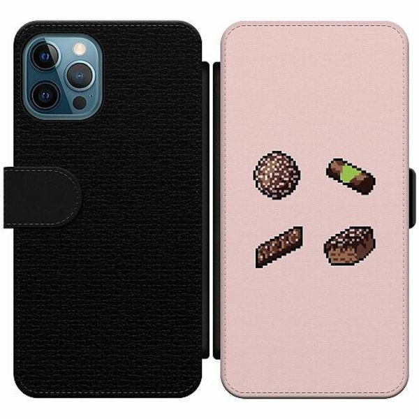 Apple iPhone 12 Pro Wallet Slim Case FIKA pixel art