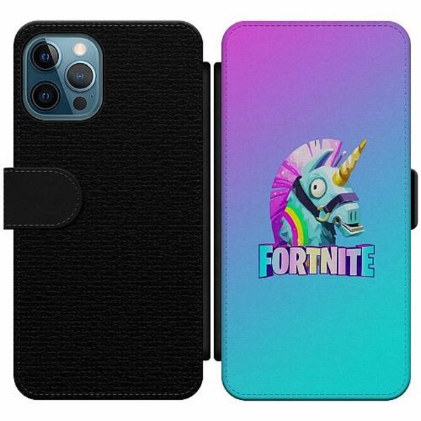 Apple iPhone 12 Pro Wallet Slim Case Fortnite Llama