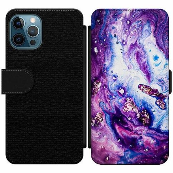 Apple iPhone 12 Pro Wallet Slim Case Galaxy Marble