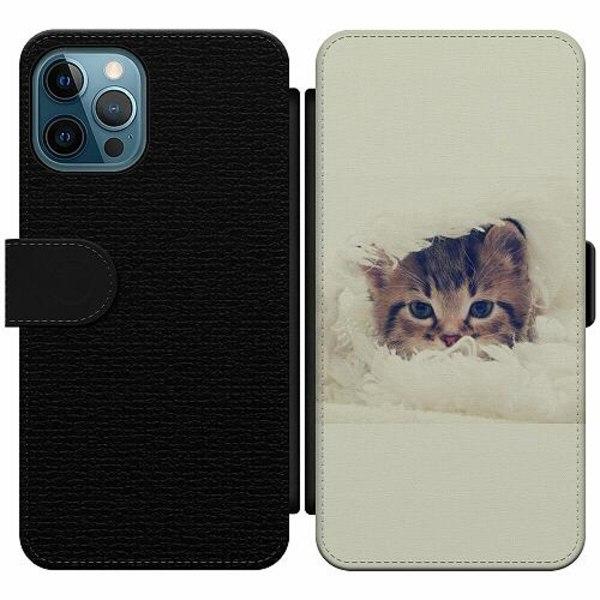 Apple iPhone 12 Pro Wallet Slim Case Grumpy Cat