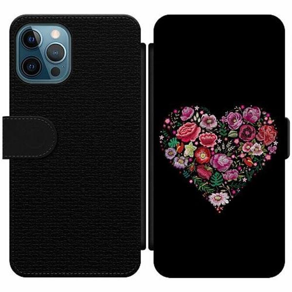 Apple iPhone 12 Pro Wallet Slim Case HEARTIN'