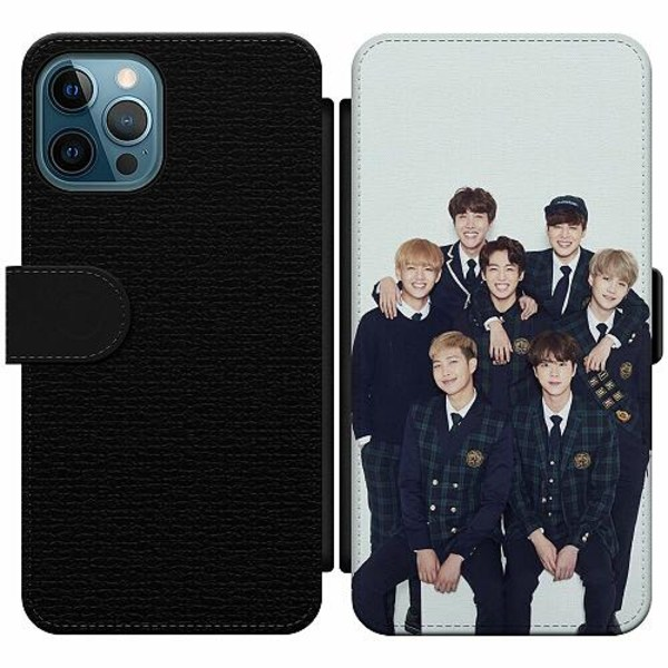 Apple iPhone 12 Pro Wallet Slim Case K-POP BTS