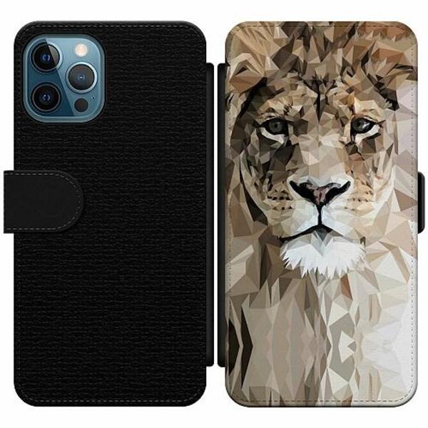 Apple iPhone 12 Pro Wallet Slim Case Lejon