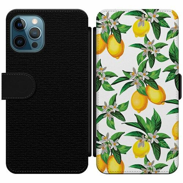 Apple iPhone 12 Pro Wallet Slim Case Lemonical