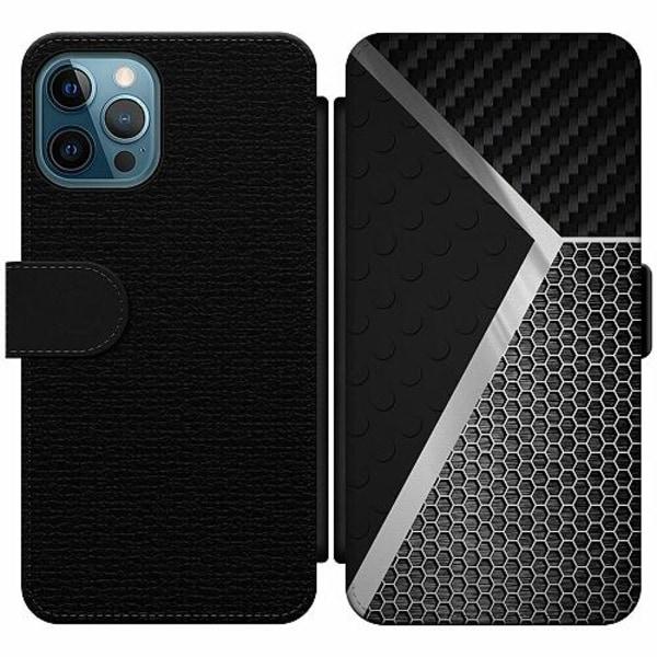 Apple iPhone 12 Pro Wallet Slim Case Metallic Pattern