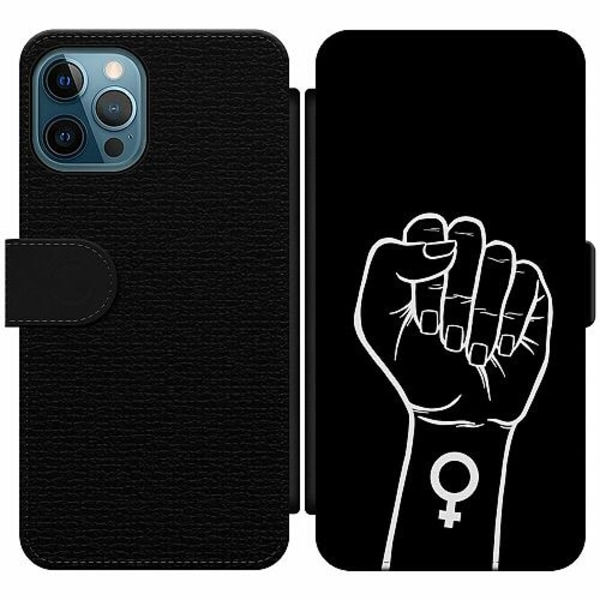 Apple iPhone 12 Pro Wallet Slim Case Never Stop Fighting