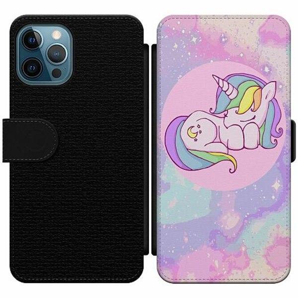 Apple iPhone 12 Pro Wallet Slim Case UNICORN