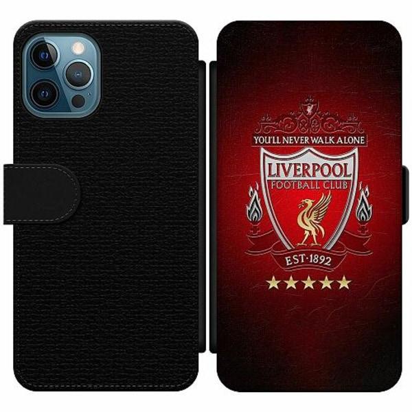 Apple iPhone 12 Pro Wallet Slim Case YNWA Liverpool