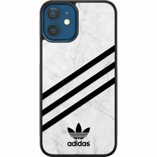 Apple iPhone 12 Soft Case (Svart) Fashion