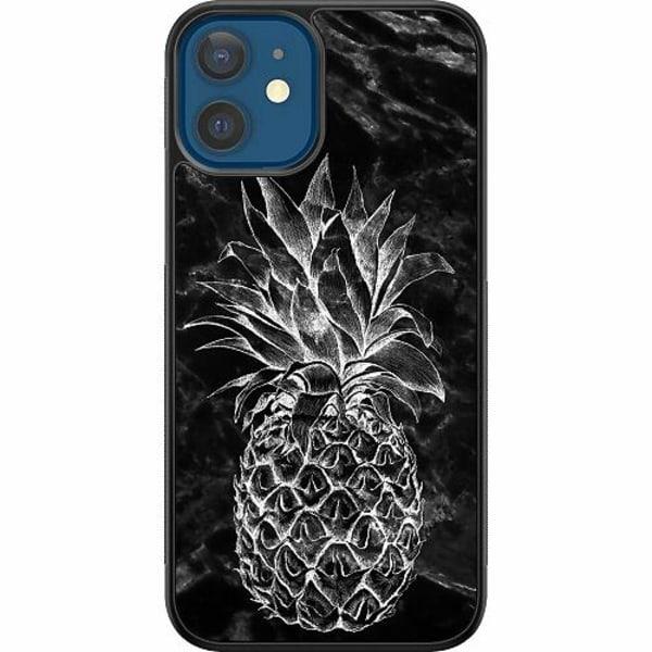 Apple iPhone 12 Billigt mobilskal - Marmor Ananas