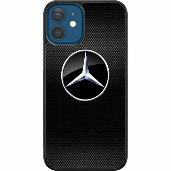Apple iPhone 12 Soft Case (Svart) Mercedes