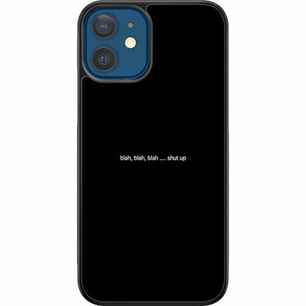 Apple iPhone 12 Soft Case (Svart) shut up