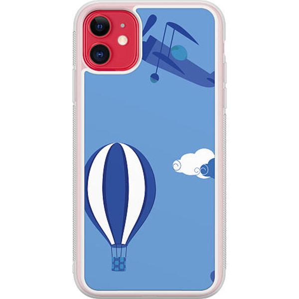 Apple iPhone 12 Transparent Mobilskal Take Me Up-Up-Up