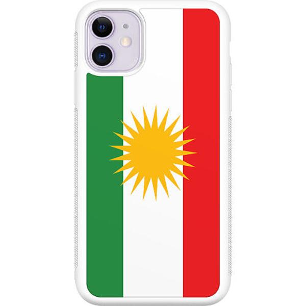 Apple iPhone 12 mini Vitt Mobilskal Kurdistan